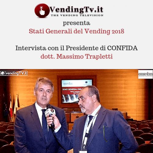 Stati Generali del Vending 2018. Intervista col presidente di CONFIDA