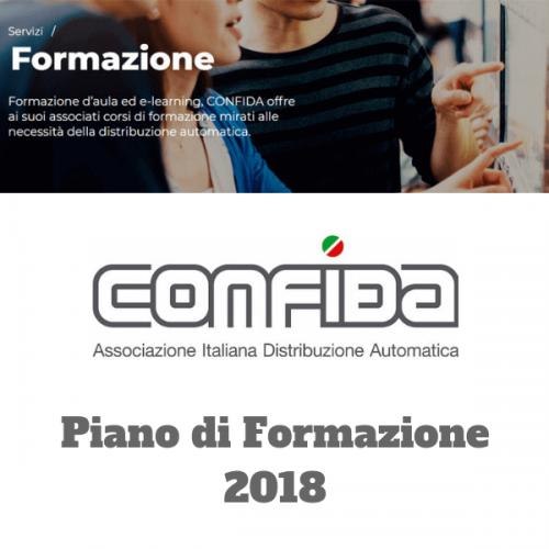 Ultima data 2018 del Piano di Formazione di CONFIDA