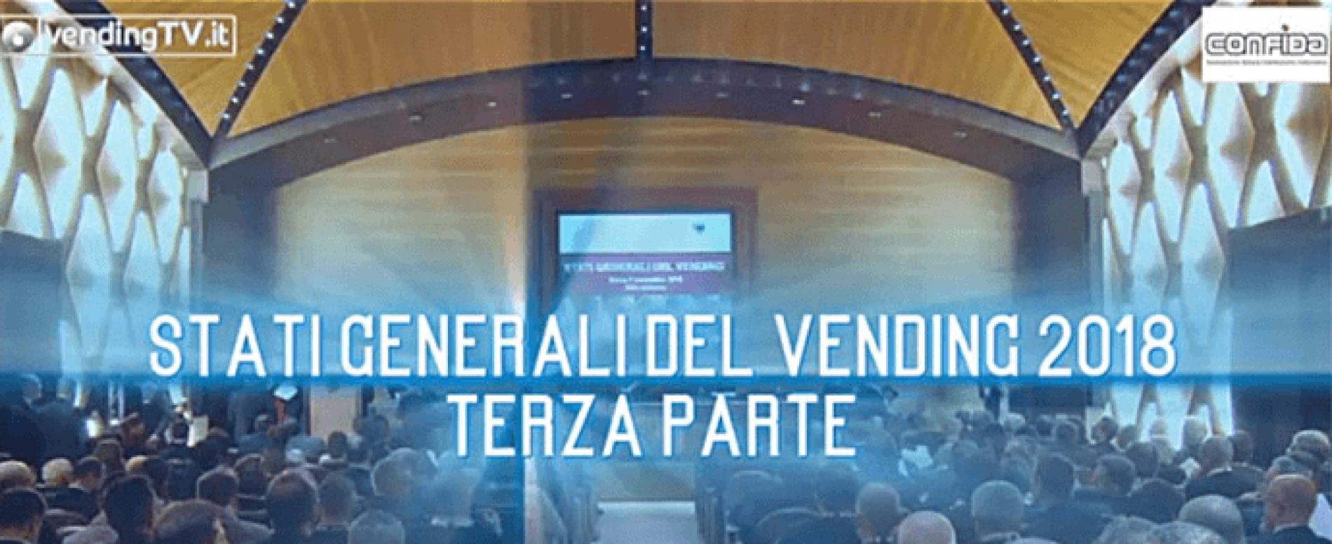 Vending TV. Stati Generali del Vending 2018. Terza parte
