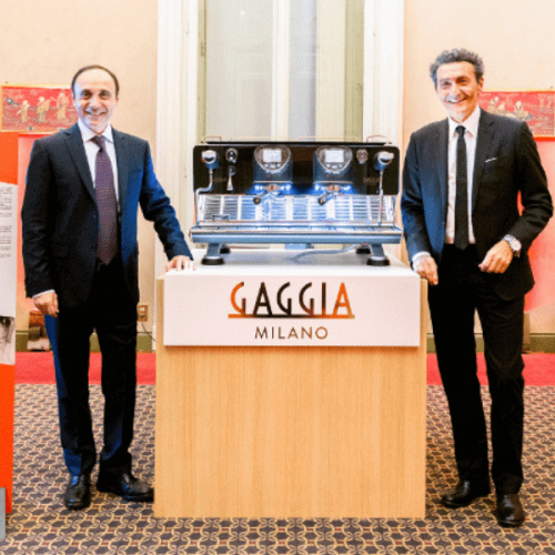 Evoca Group celebra gli 80 anni di Gaggia con il rilancio dello storico brand