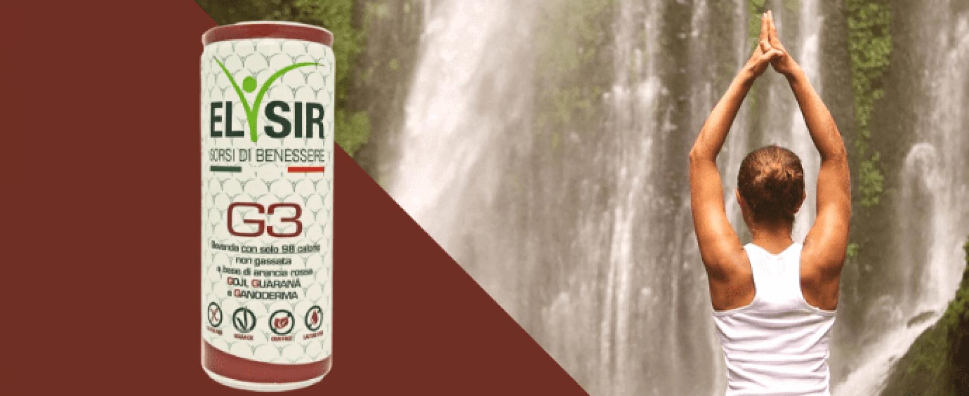 Elisir Super Drink G3: gusto e benessere ogni giorno