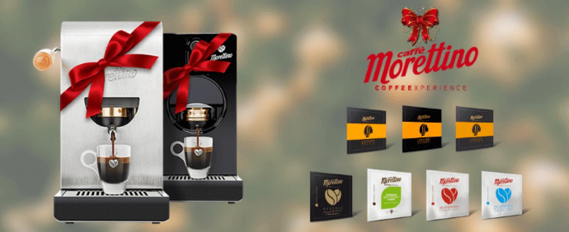 Morettino Espresso al Quadrato: cremoso e buono come al bar