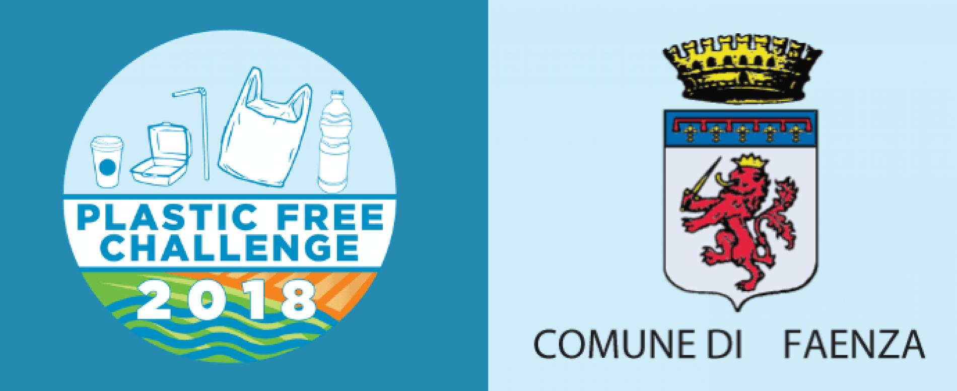 Anche il Comune di Faenza decide di aderire alla Plastic Free Challenge