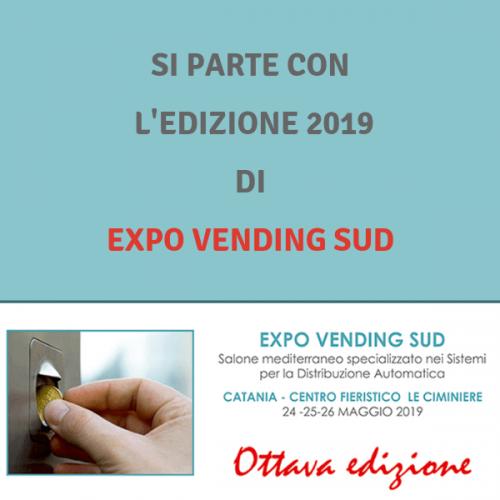 Parte l'organizzazione di Expo Vending Sud 2019