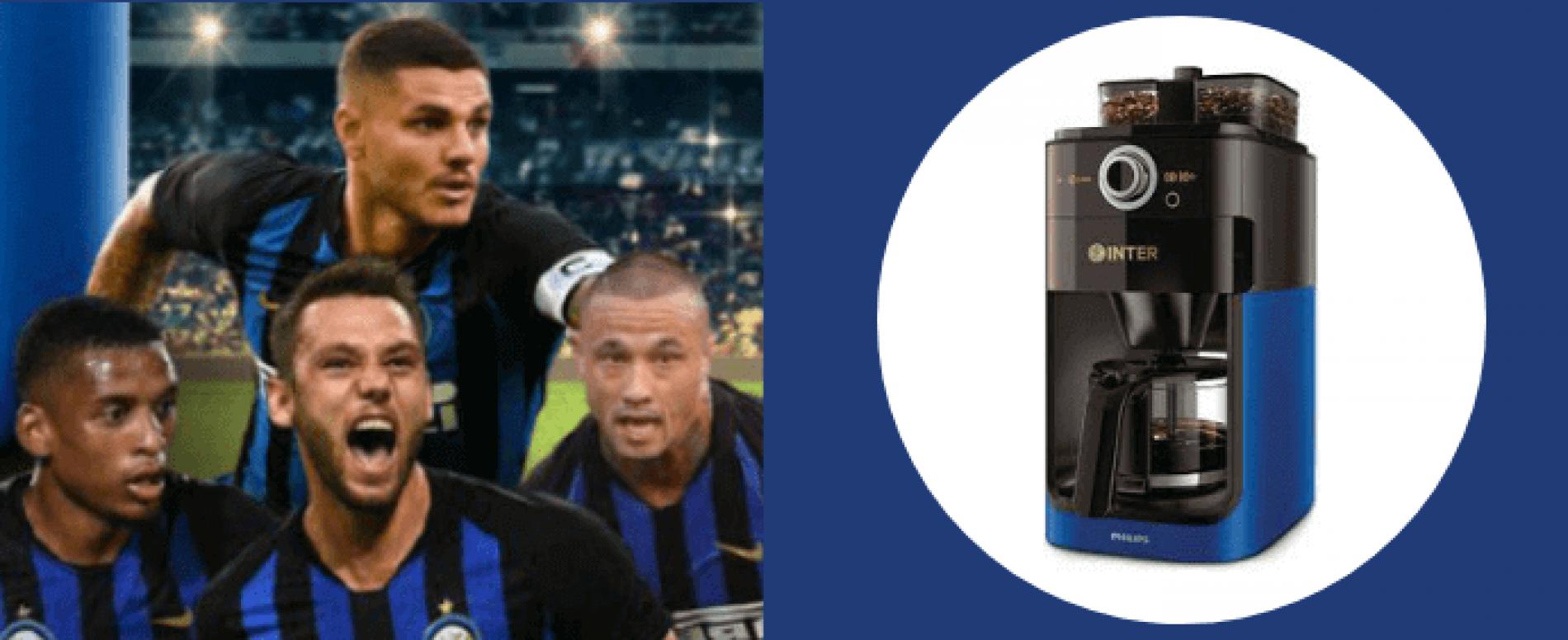 L'Inter ha la sua Official Coffee Machine targata Philips
