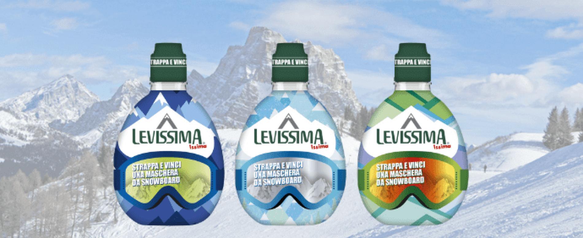 """Levissima lancia il nuovo concorso Issima """"Winter Edition"""""""