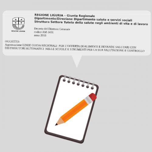 La Liguria approva le linee guida della Distribuzione Automatica nelle scuole