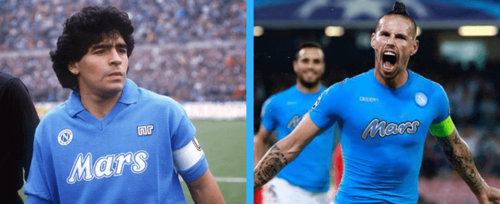 La storia d'amore tra MARS Italia e SSC Napoli continua