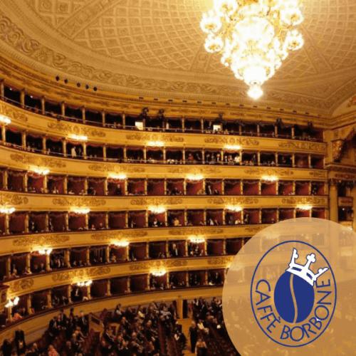 Caffè Borbone inaugura la stagione del Teatro alla Scala di Milano
