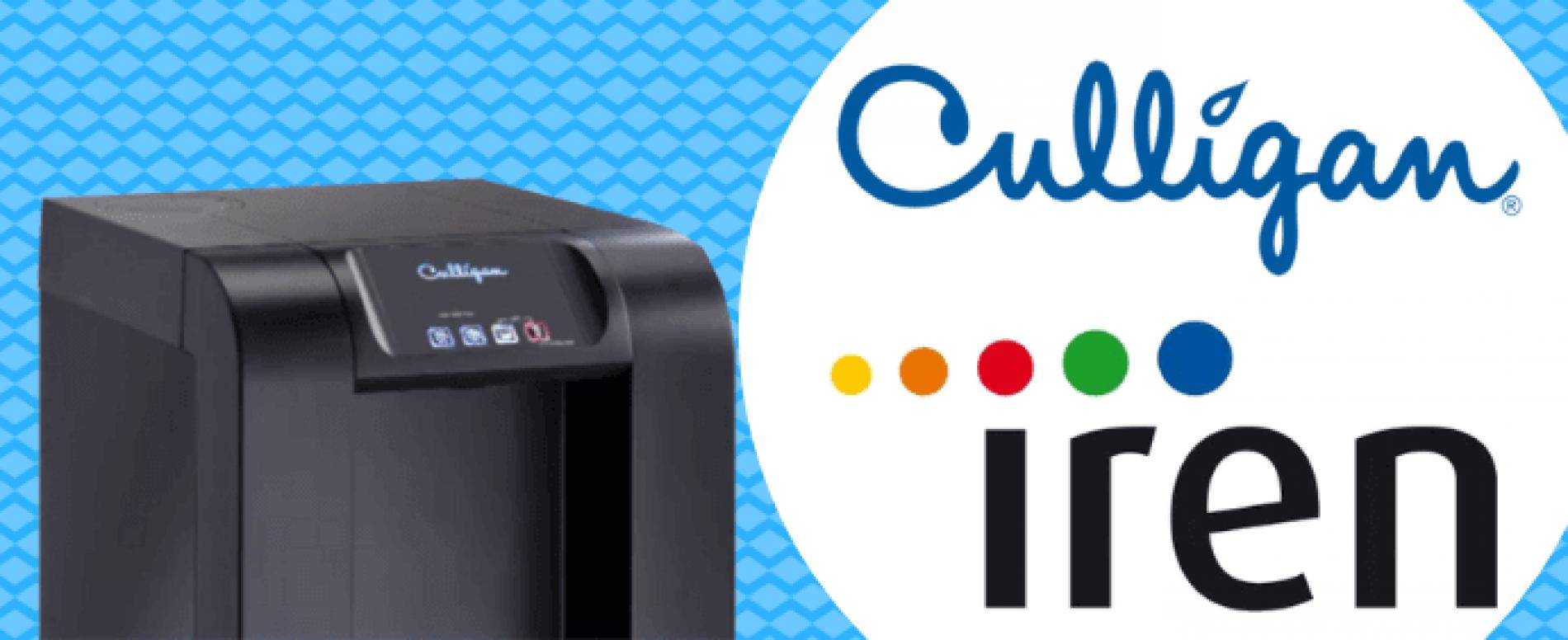 IREN e Culligan in partnership per ridurre la plastica delle bottiglie