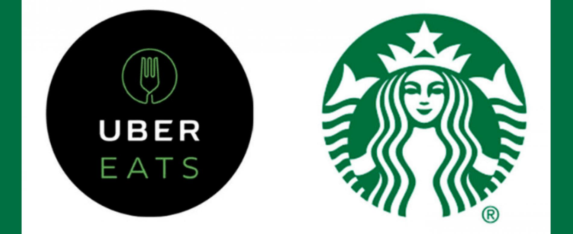 Starbucks e Uber Eats alleati in USA per le consegne di caffè