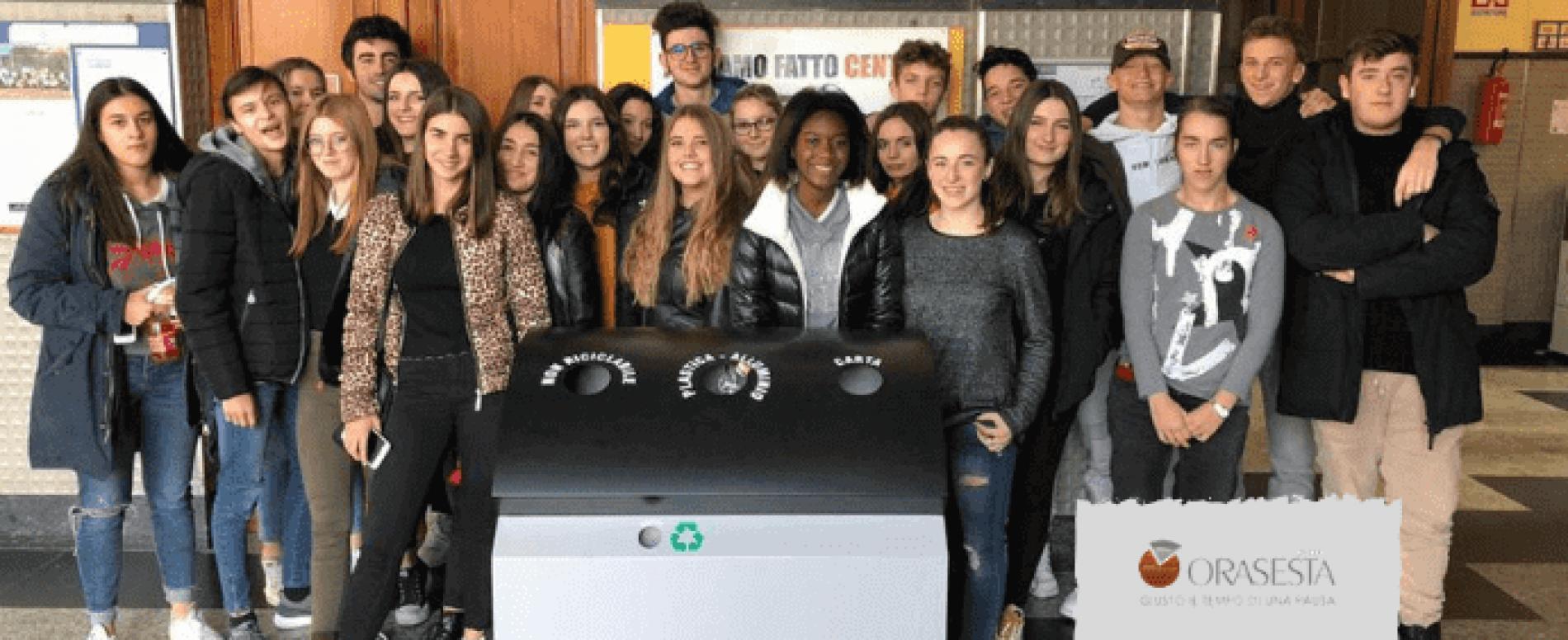 Ora Sesta e gli studenti del Don Bosco di Borgomanero insieme per l'ambiente