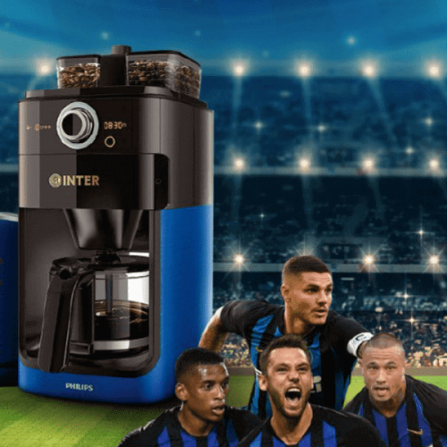 L'Inter ha la sua Official Coffee Machine targata Philips