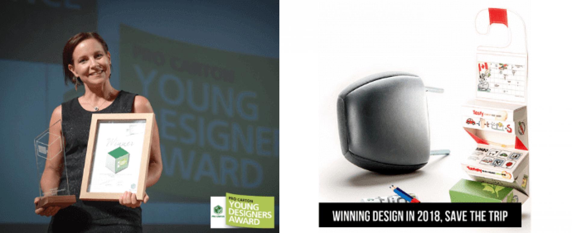 Pro Carton: vince lo Young Designer Award un'idea semplice ma geniale