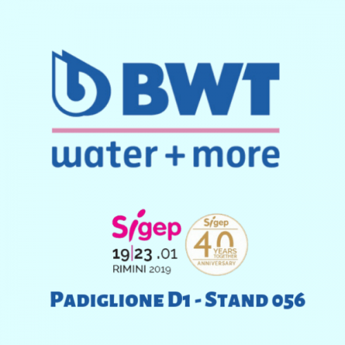 BWT Water+More Italia Srl @ a SIGEP 2019
