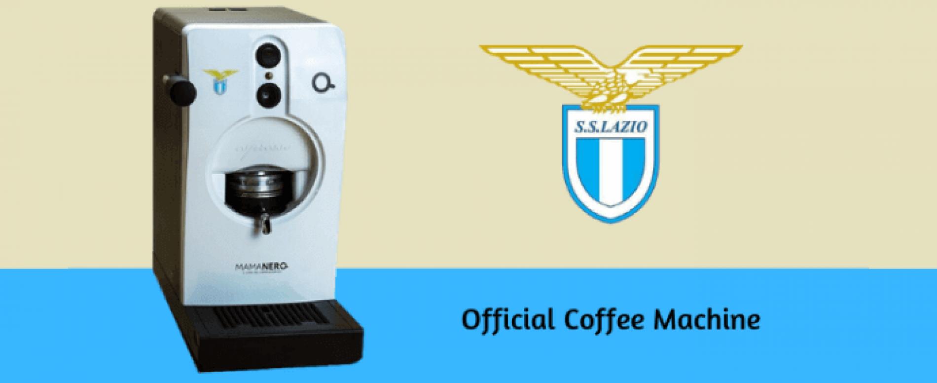 """È la Tube di Qualità Italia la """"official coffee machine"""" della Lazio"""