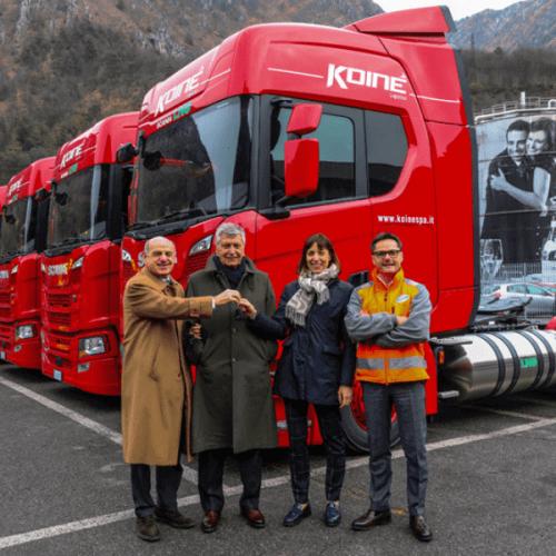Il Gruppo Sanpellegrino con i veicoli a LNG diventa sempre più green