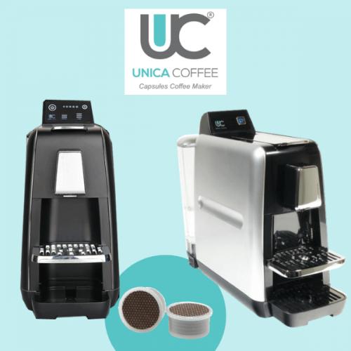 UIC8001. La macchina per il caffè compatta per capsule fap