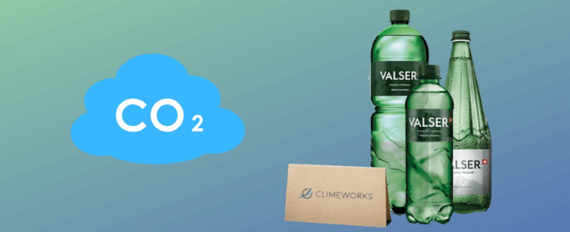 Acqua Valser (Coca-Cola) userà anidride carbonica succhiata dall'aria