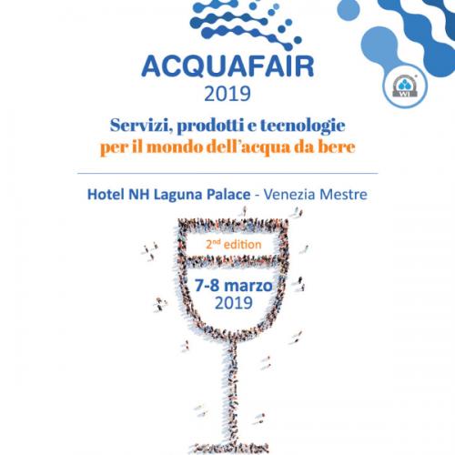 Torna Acquafair, l'evento italiano dedicato al mondo dell'acqua da bere