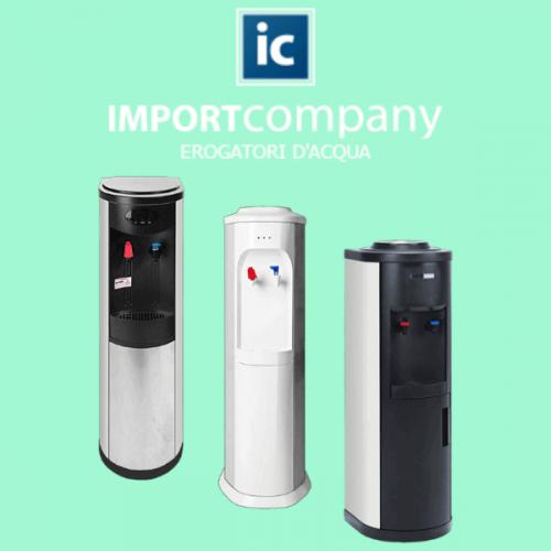 Import Company. Una gamma completa di erogatori refrigerati