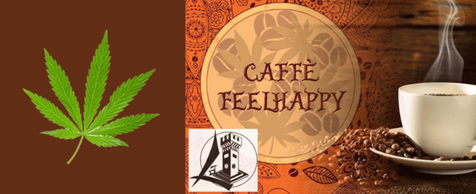 FeelHappy, il caffè ai semi di canapa che fa bene alla salute