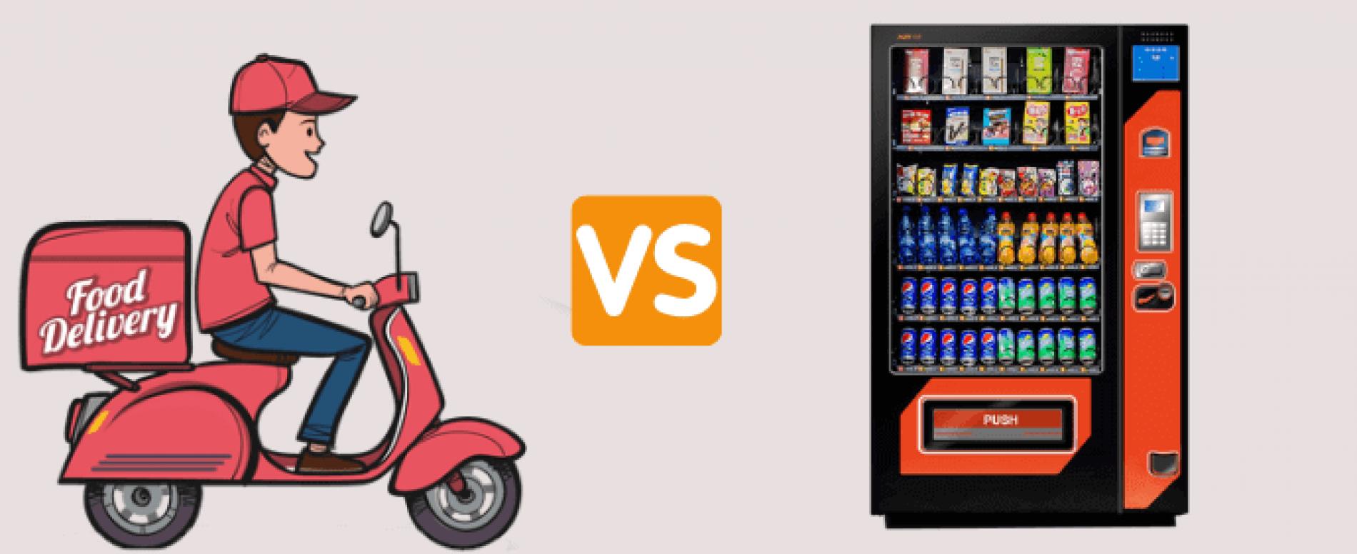 Il Food Delivery: all'orizzonte un nuovo competitor per il Vending