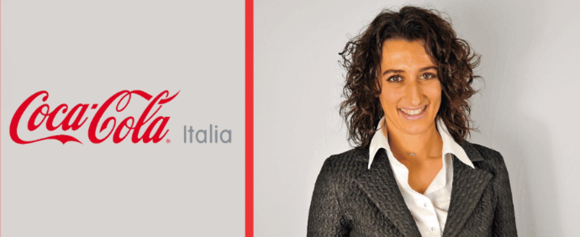 Giuliana Mantovano direttore marketing Coca-Cola Italia e Albania