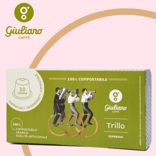 Da Giuliano Caffè nasce Trillo: la capsula 100% compostabile