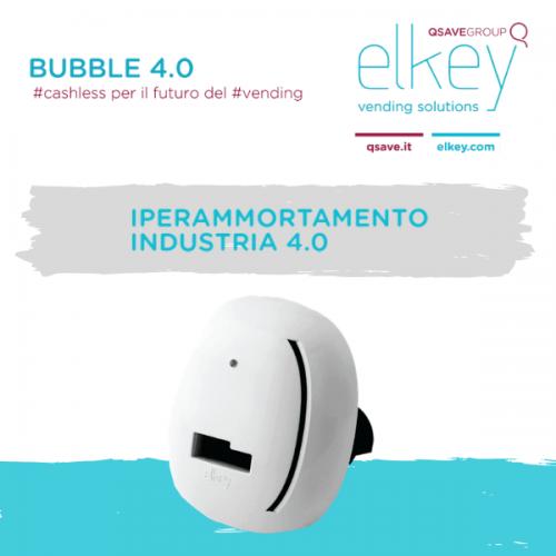 Bubble 4.0. Il cashless per il futuro del Vending