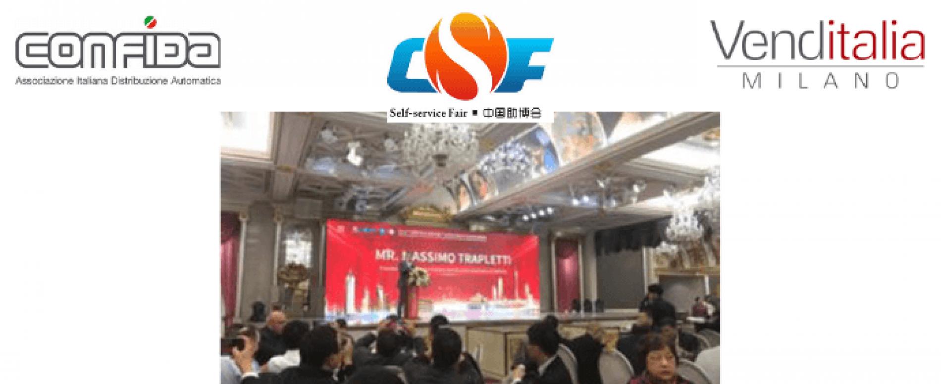 CONFIDA al China International Show per la promozione di Venditalia
