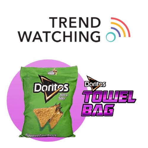 Il sacchetto delle Doritos diventa un tovagliolo e va in lavatrice
