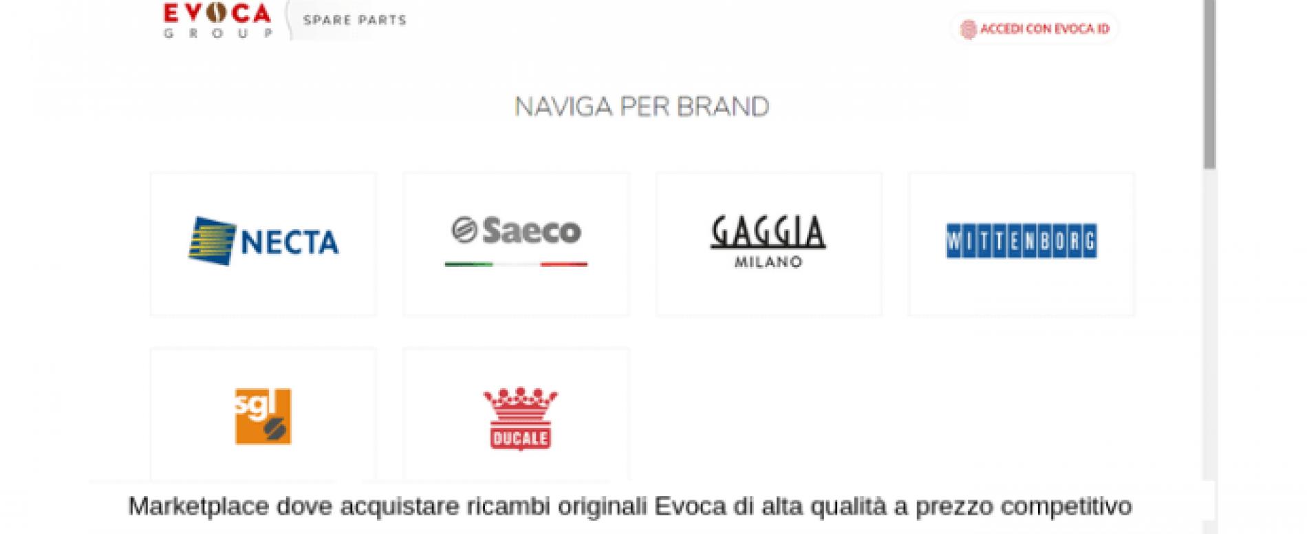 EVOCA Group presenta il nuovo portale  e-commerce
