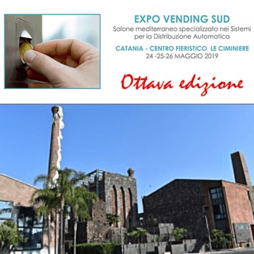 Expo Vending Sud 2019. Cresce il numero delle adesioni