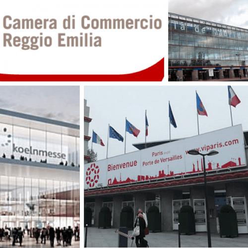 CCIAA Reggio Emilia. Contributi alle imprese per le fiere internazionali