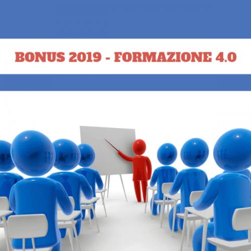 Bonus Formazione 4.0. Le novità del 2019