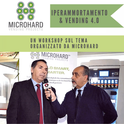 Vending TV. Intervista con A. Montanari al Workshop Microhard