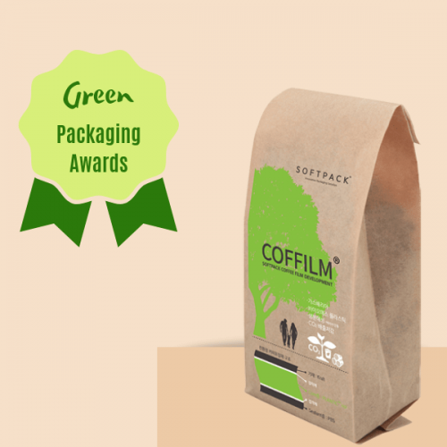 Green Packaging Awards al sacchetto bio per il caffè in grani