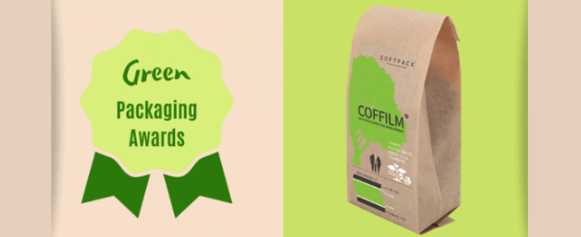 Green Packaging Awards al sacchetto bio per il caffè in grani