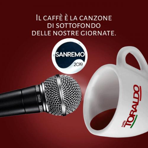 Caffè Toraldo protagonista della 39° edizione del Festival di Sanremo