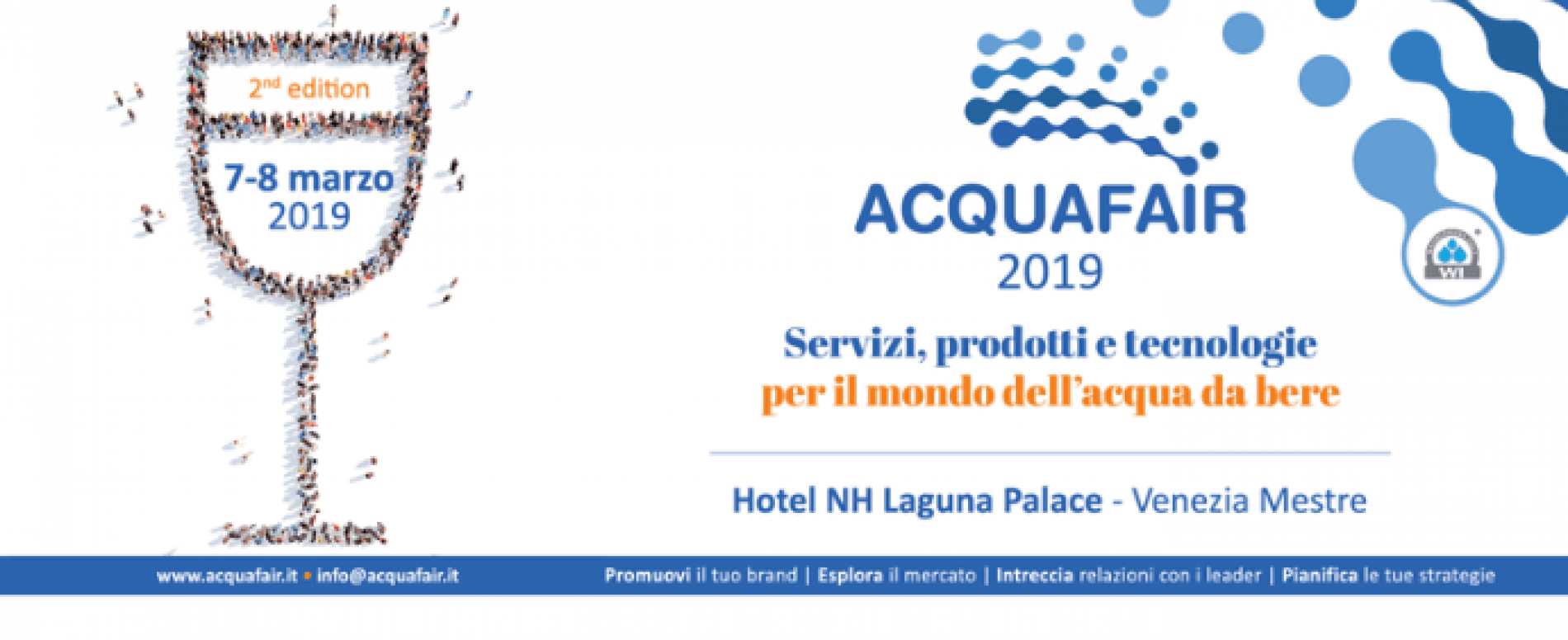 Al via oggi Acquafair 2019: in programma 7 e 8 marzo a Venezia