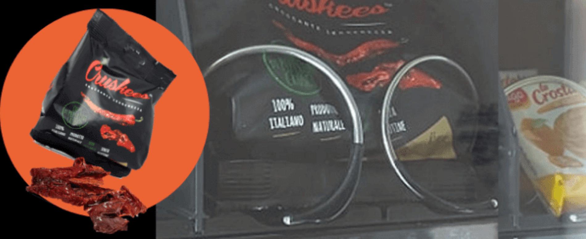 Cruskees. Il peperone dolce della Basilicata nelle vending machine