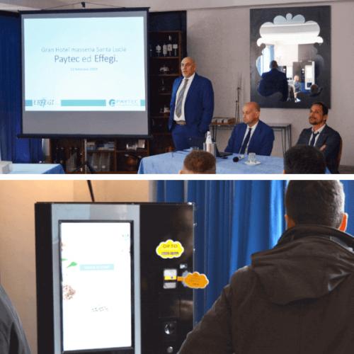 Paytec. L'evento per la presentazione di OPTO in Puglia