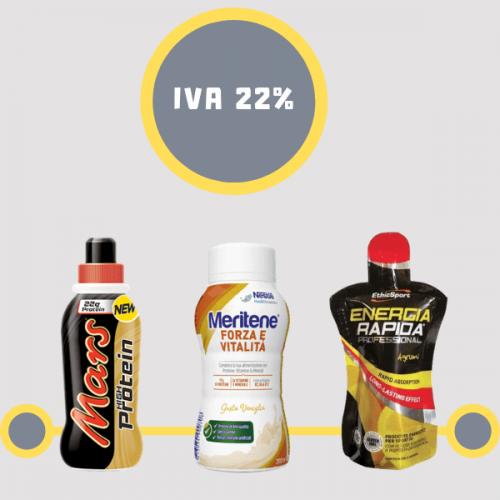 Bevande proteiche. Confermata l'aliquota IVA al 22%