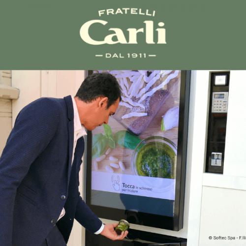 A Monza la vending machine tecnologica di Fratelli Carli