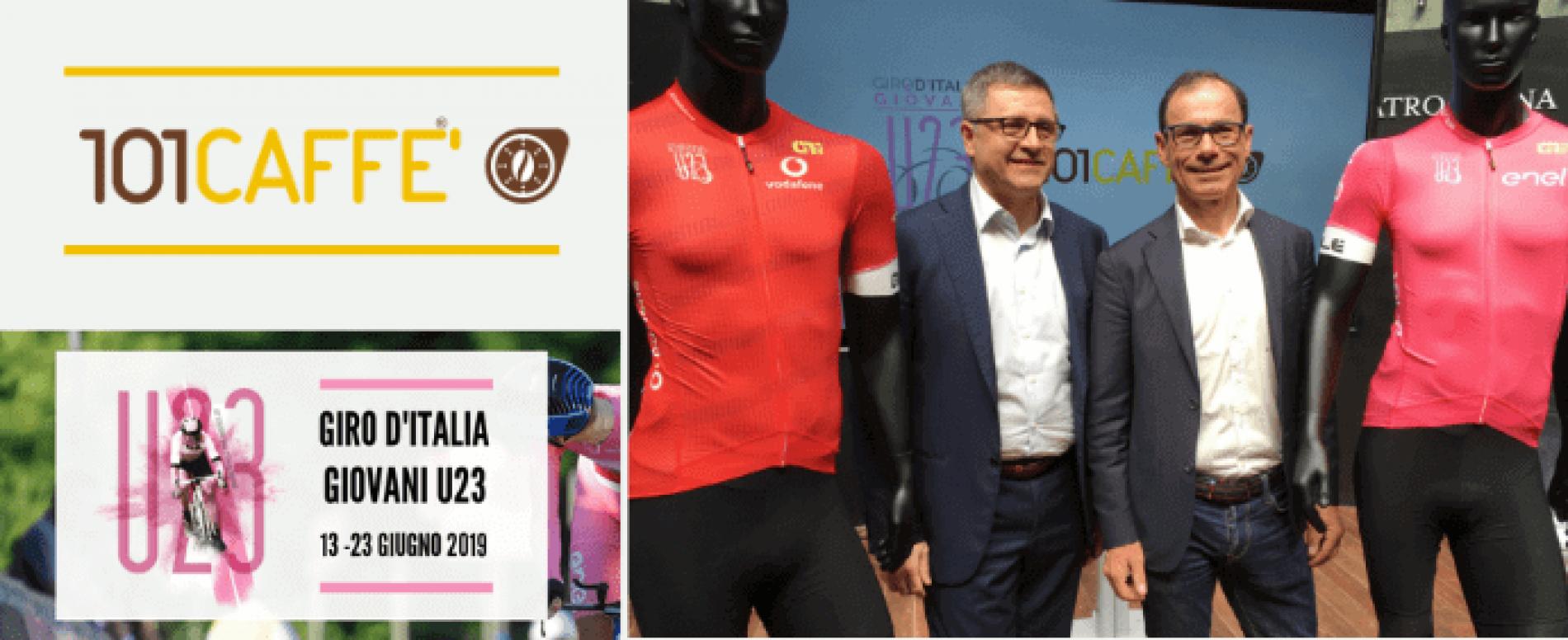 101CAFFE' è silver sponsor del Giro d'Italia Under 23