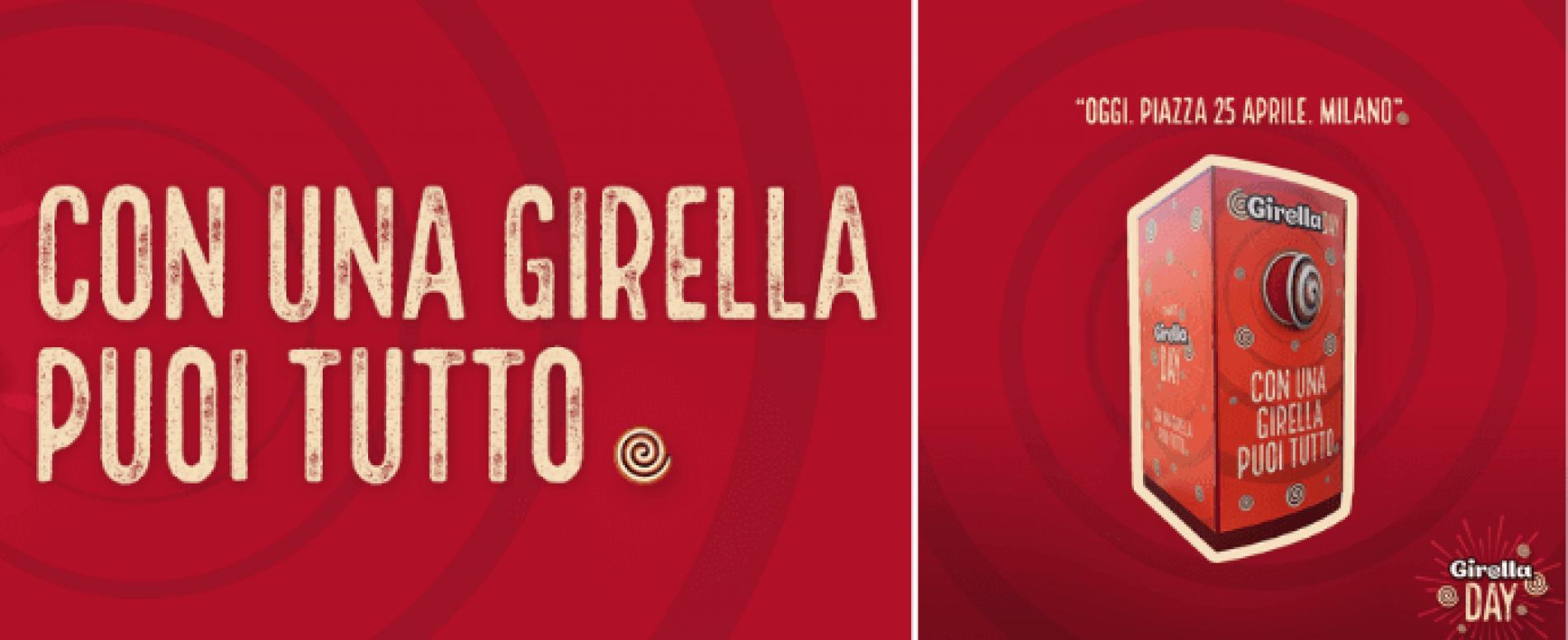 Girella Day: un distributore automatico a Milano per la festa