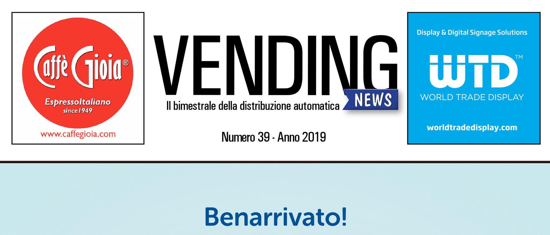 Rivista Vending News – Leggi il numero 39