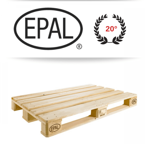 Il pallet EPAL compie 20 anni di successi in Italia e cresce a doppia cifra