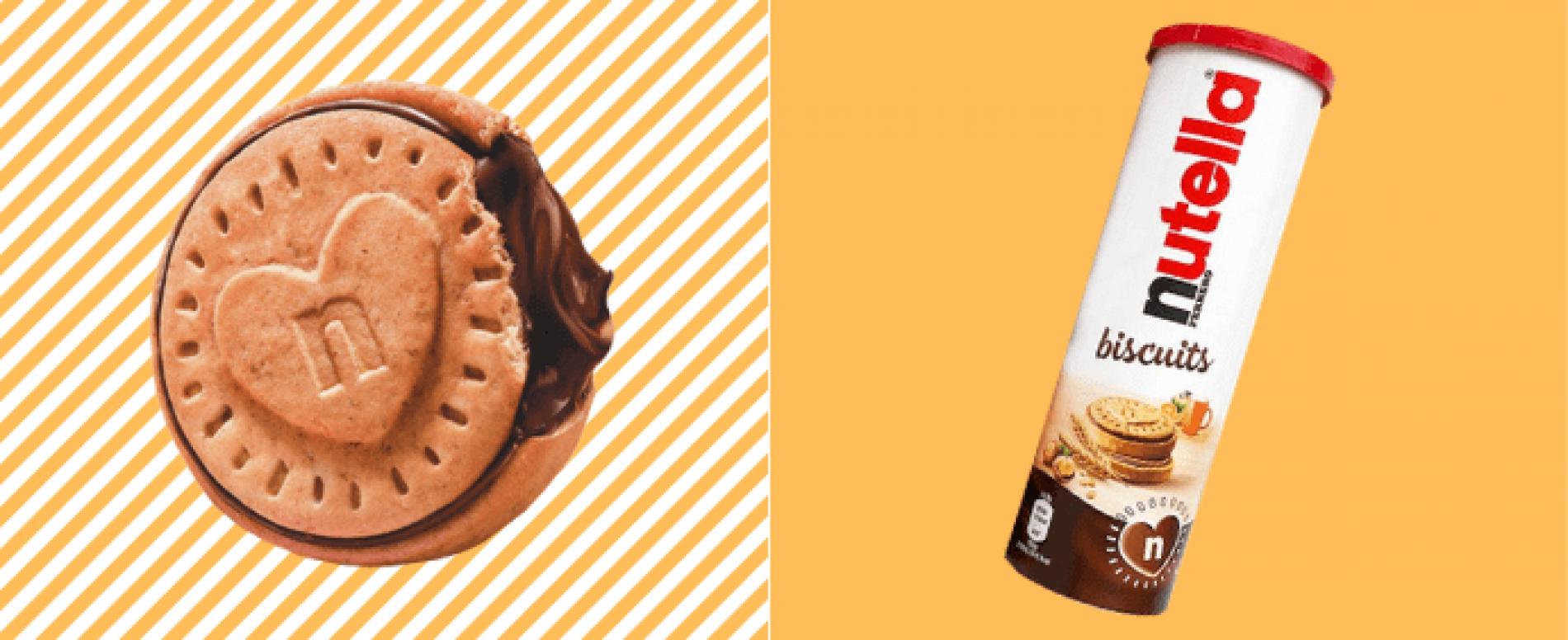 Ferrero lancia in Francia i Nutella Biscuits